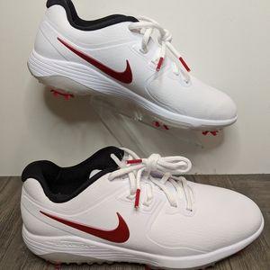 Nike Vapor Pro Golf Shoes White/Red AQ2196-104